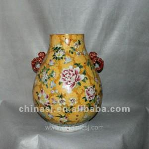 Antique hand painted Porcelain Vase RYUY05