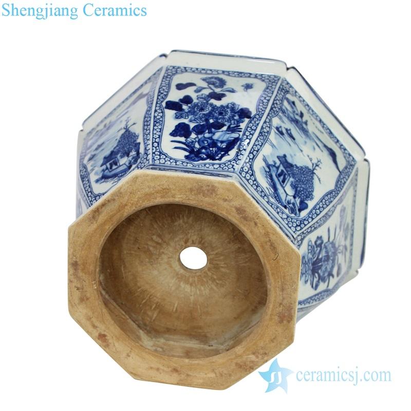 antique porcelain planter