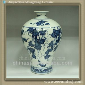 RYUJ06 Chinese jingdezhen porcelain vase for sale