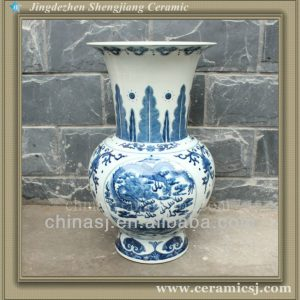RYUJ12 Asian cheap ceramic shop vase