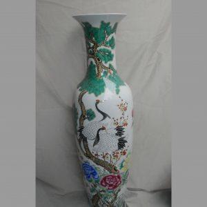 Famille rose Large Chinese Porcelain Vase WRYUL04