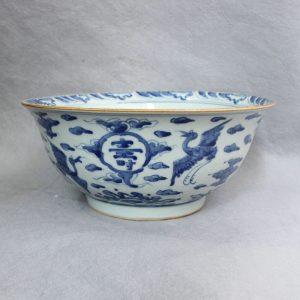 RYVW06 blue and white ceramic flower pot wholesale
