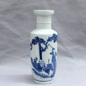 RYVX03 jingdezhen blue and white porcelain vase