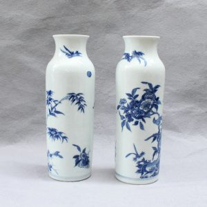 RYVX04 blue and white Chinese vase