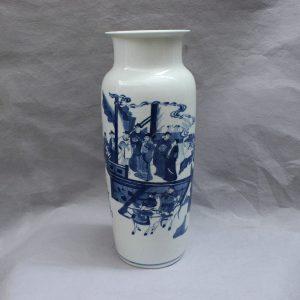 RYVX07 blue and white ceramic vase