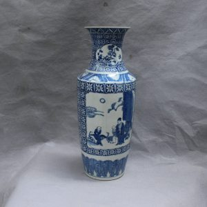 RYVX10 Chinese blue and white ceramic vase