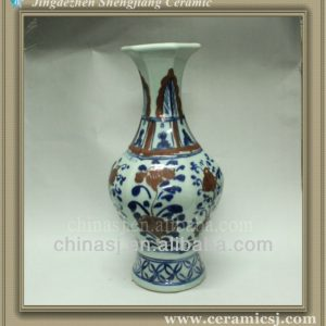 RYWE03 blue and white ceramic vase wholesale