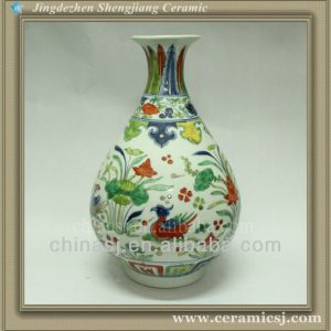 RYWF03 colored flower vase beads