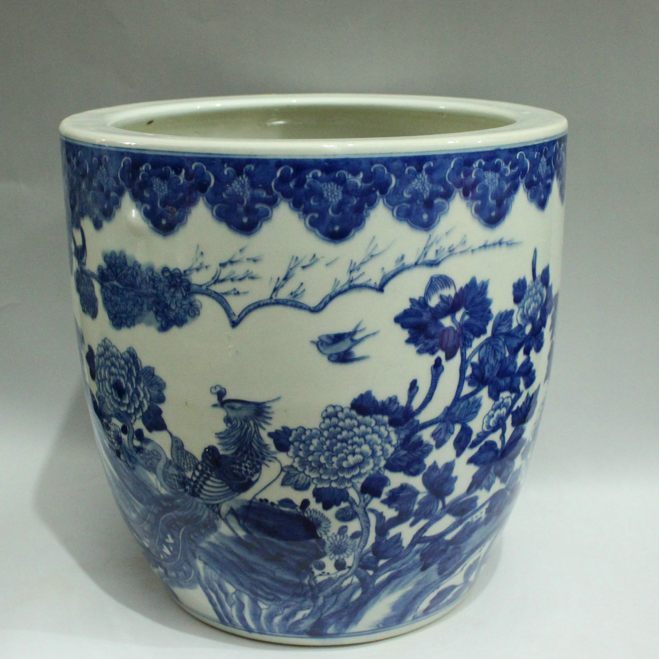 Rywi04 Blue And White Chinese Flower Pots Wholesale