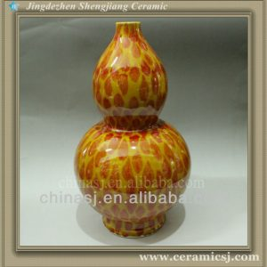 RYWN02 Ming dynasty Gourd Colored Vases