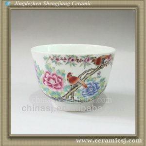 RYWS04 pure hand painted fancy art chinese tea cup