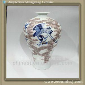 RYWU20 jingdezhen handmade ceramic flower vase