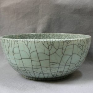 RYXC09 Ceramic Big Crackle Bowl