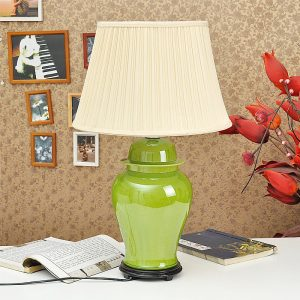 TYLP51 Bright Plain Color Ceramic Lamps