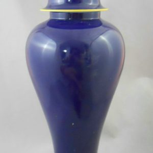 cobalt blue Ceramic Jar WRYKB69