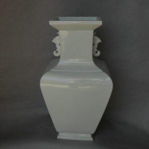 blanc de chine square vase WRYTK02