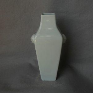 blanc de chine square porcelain vase WRYTK05