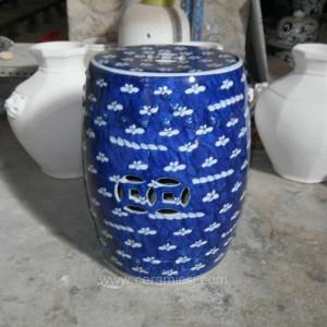 antique chinese ceramic flower Garden stool WRYSI08
