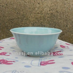 beautiful blue Glazed ceramic and porcelaun bowl WRYMA84