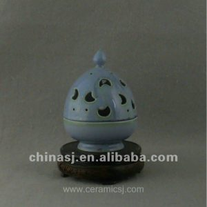 beautiful ceramic Censer with moon design WRYQN32