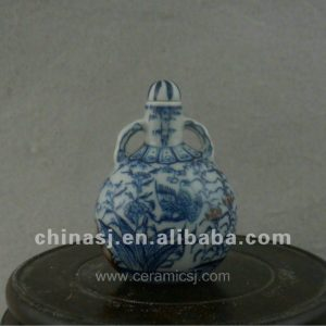 beautiful ceramic blue and white Tea set with fung-hwang design WRYAJ03