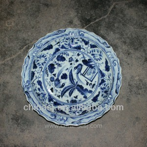 big decorative Porcelain Plate for appreciate RYVH06