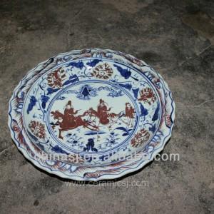 big decorative Porcelain Plate for appreciate RYVH08