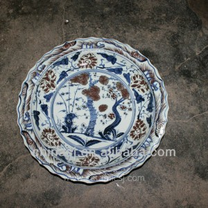 big decorative Porcelain Plate for appreciate RYVH11