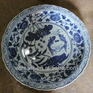 big decorative Porcelain Plate for appreciate RYVH15