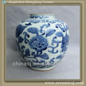 blue and white cheap porcelain flower vase RYVW01