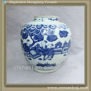 chinese blue and white porcelain flower vase RYVW04
