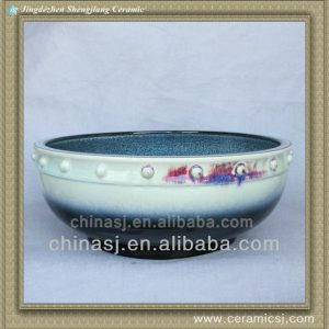 colorful chinese ceramic bathroom sink WRYBH100