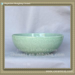 crackled chinese ceramic bathroom sink WRYBH89