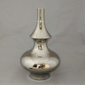 gourd shaped Bright Silver Vase WRYKB76