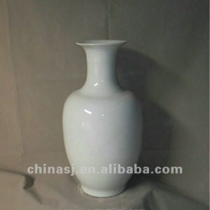 hand made white glaze ceramic Vase RYRJ05