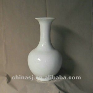 hand made white glaze ceramic Vase RYRJ08