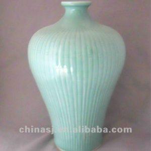 handmade green porcelain vase WRYKB99