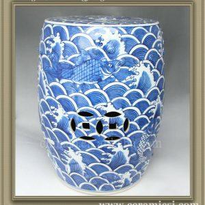 antique chinese ceramic flower Garden stool WRYSI07