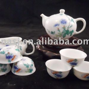 WRYAS62 8pcs porcelain tea sets with pot and cup