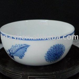 Antique hand painted ceramic glaze small tea cup RYGT06