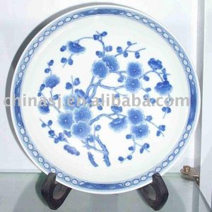 Blue and White ceramic hand painted plate WRYAS44