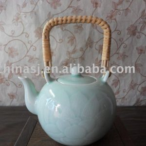 Celadon Porcelain tea pot WRYBM04