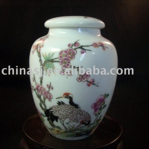 Ceramic Tea Caddy RYBC37