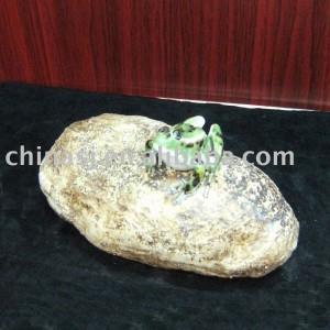 Ceramic frog figurine WRYEQ24
