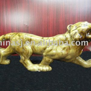 Ceramic tiger figurine WRYEQ26