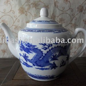 Chinese Traditional Dragon Porcelain tea pot WRYHU01