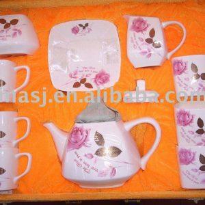 Coffee SET pink rose WRYAN42
