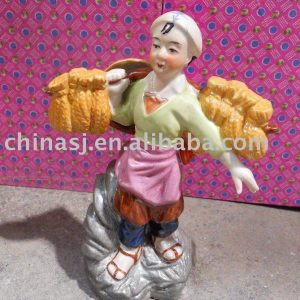 Culture Revolution Porcelain Statue WRYGU07