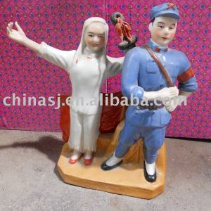 Culture Revolution Porcelain Statue WRYGU08