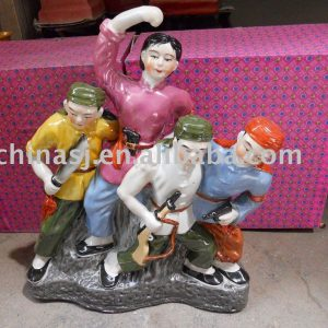 Culture Revolution Porcelain Statue WRYGU13